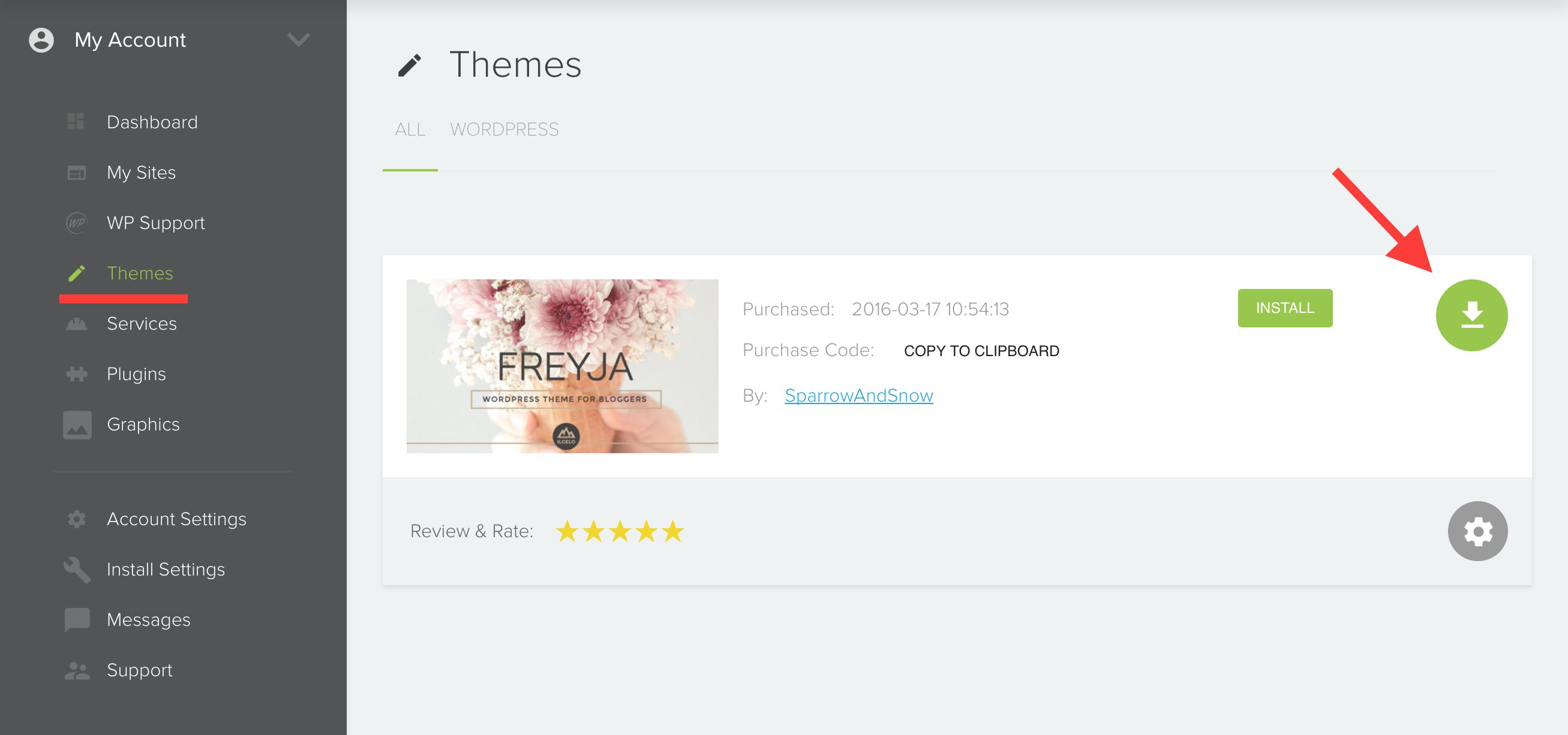 How to download freyja theme from mojomarketplace? « Freyja