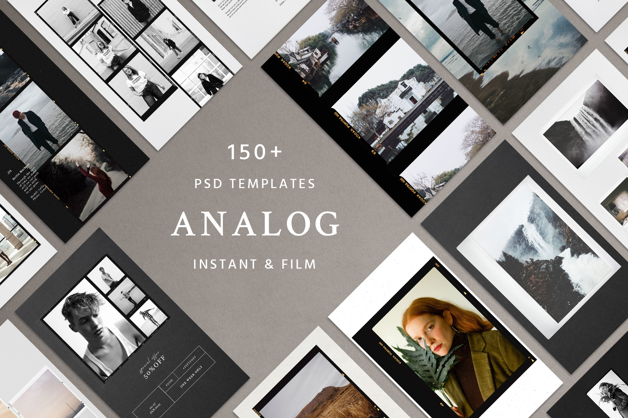analog film and instant social kit
